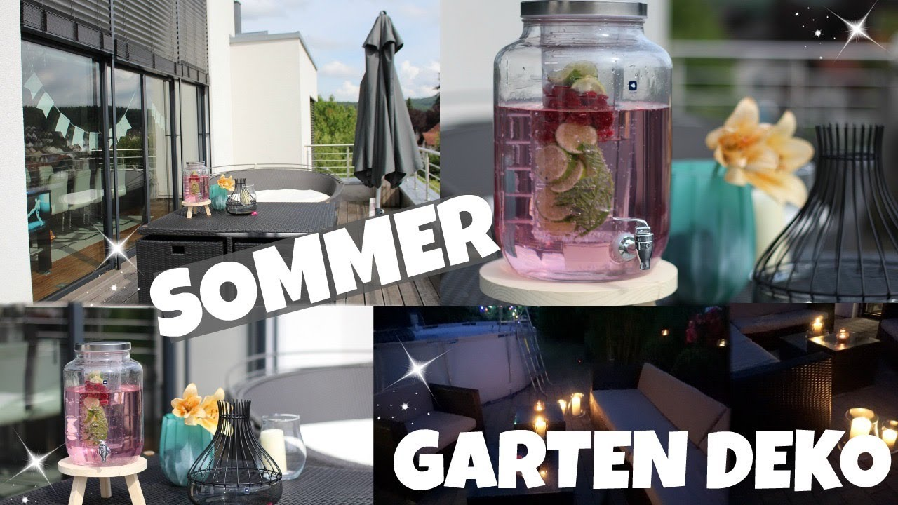 sommer deko ideen f r den garten i inspiration grillparty i rosella mia youtube. Black Bedroom Furniture Sets. Home Design Ideas