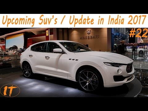 Latest New Top Upcoming Cars/Suv's in india 2017 l price l Specification