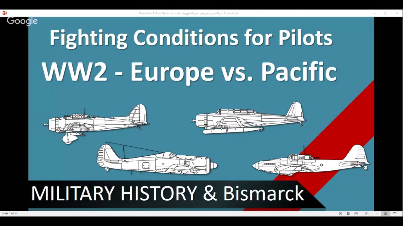 Fighting Conditions for Pilots in WW2 - Europe vs  Pacific /+Military  History Visualized