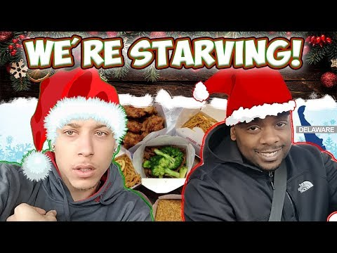 NO FOOD ON CHRISTMAS!! MINI CHRISTMAS HAUL | WAWA AND ROYAL FARMS FEAST!!