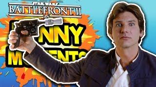 Star Wars Battlefront 2 Funny & Random Moments [FUNTAGE] #44 - Lag, Lag And More Lag!