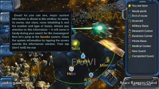 Space Rangers: Quest (by 1C Online Games) - adventure game for android - gameplay.