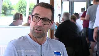Michael Preetz zieht ein positives Fazit des ersten Trainingslagers