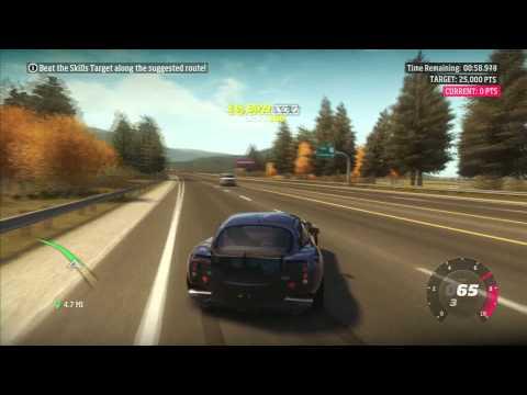 Forza Horizon: 2005 TVR Sagaris - PR Stunts Skill Stunt (1080p)