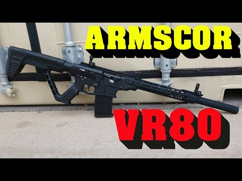 Great Tactical Shotgun - Armscor VR80 Shotgun Review