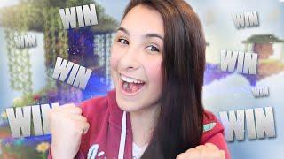 Minecraft: SKYWARS - MELHOR PARTIDA DA MINHA VIDA!