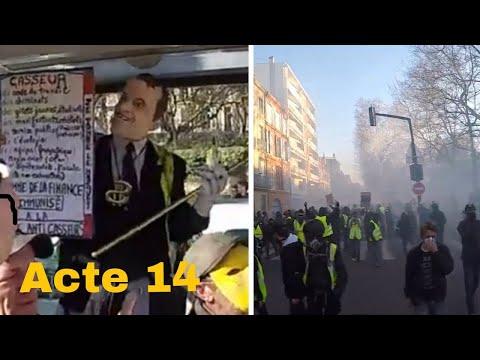 gilet jaune Toulouse acte 14 Le 16/02/2019