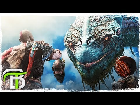 GOD OF WAR GAMEPLAY WALKTHROUGH PART 5 - THE WORLD SERPENT (God of War 4)