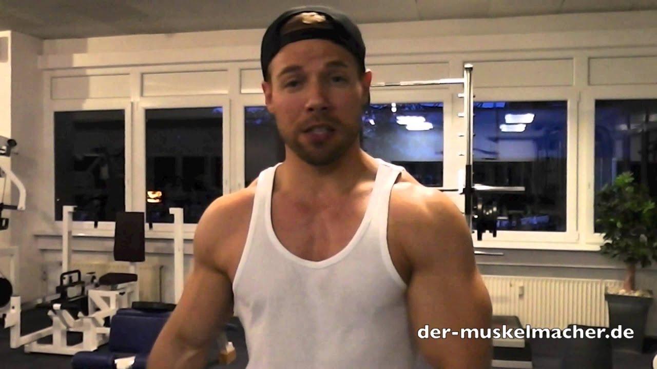60kg Bizeps Curls - Kann der Muskel beim Training reißen? - YouTube