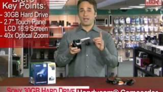 Sony DCR-SR45 30GB Hard Drive Handycam® Camcorder - JR.com