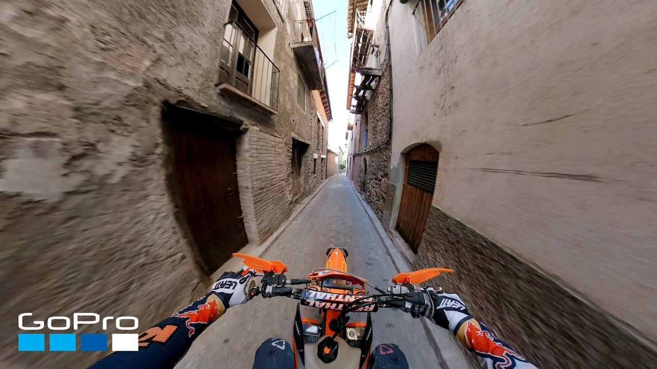 GoPro: Jonny Walker Rides Through Coll de Nargó in 4K