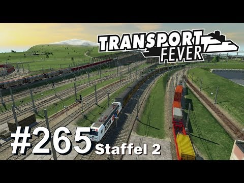 TRANSPORT FEVER S2/#265: Stehende Züge finden & befreien [Let's Play][Gameplay][German][Deutsch]