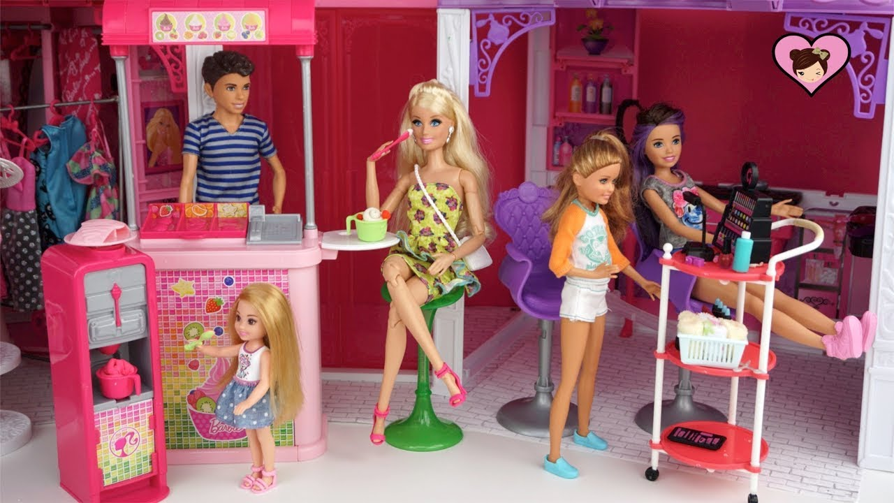 Barbie Sisters Weekend Routine Barbie Shopping Mall