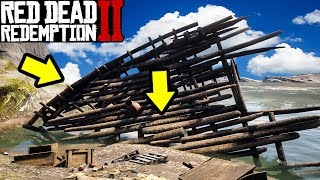 SECRET PIRATE SHIP WITH A CHEAT CODE in Red Dead Redemption 2!