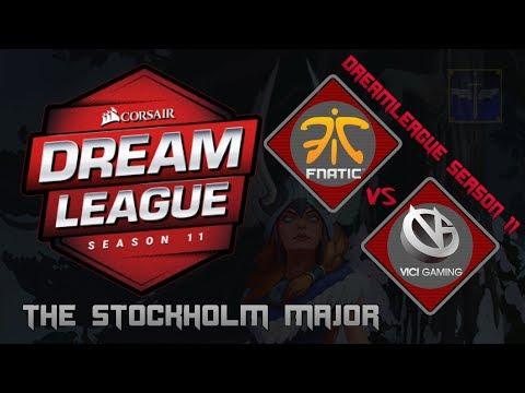 Fnatic vs Vici Gaming / Bo3 / DreamLeague Season 11 Stockholm Major  / Dota 2 Live