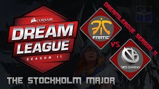 Fnatic vs Vici Gaming / Bo3 / DreamLeague Season 11 Stockholm Major  / Dota 2 Live