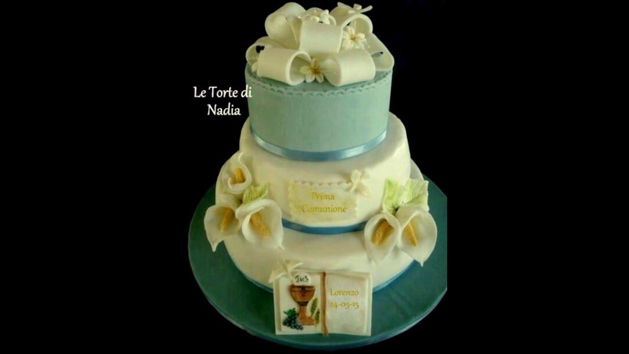 Slideshow torte prima comunione youtube for Decorazione torte prima comunione