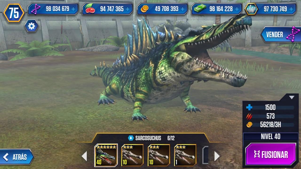 Sarcosuchus Nivel 40 Youtube