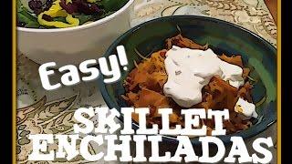 ~ Easy Skillet Enchiladas - Ninja Cooking System