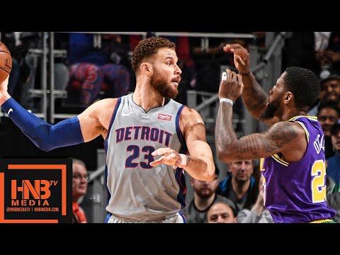 Utah Jazz vs Detroit Pistons Full Game Highlights   01/05/2019 NBA Season