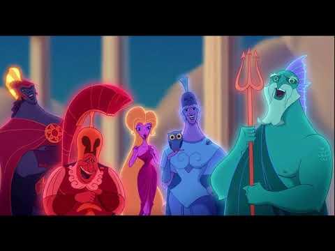 Геркулес мультфильм боги