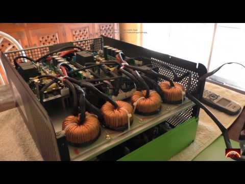 Voltronic Solar. Infini 5K Hybrid inverter. Lets look inside