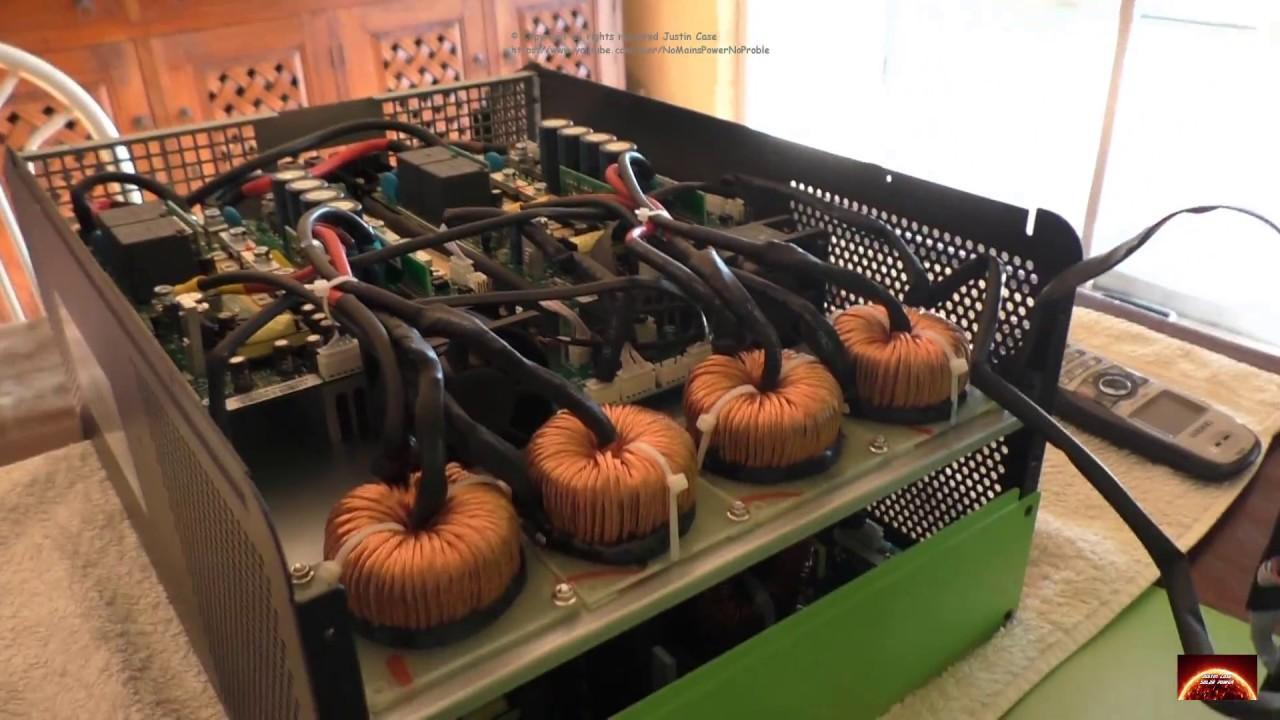 Voltronic Solar Infini 5k Hybrid Inverter Lets Look