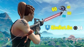 7 minutes 53 seconds of Fortnite aimbot...