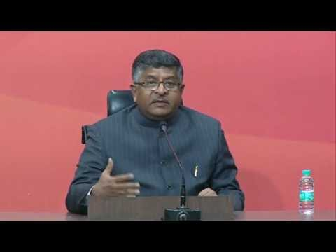 Mayawati cannot hide corruption in the garb of Dalit cause: Shri Ravi Shankar Prasad