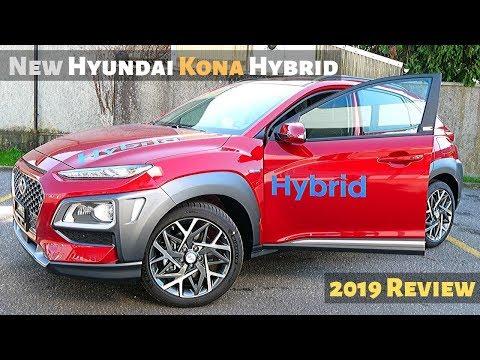 New Hyundai KONA Hybrid 2019 Review Interior Exterior