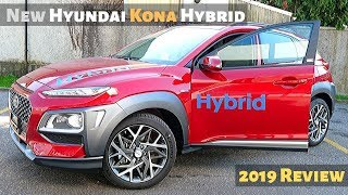 New Hyundai Kona Hybrid 2019 Review Interior Exterior
