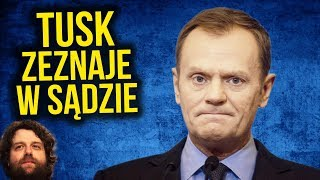 Donald Tusk w Sądzie Zeznaje jak na Wiecu Wyborczym PIS PO – Komentator