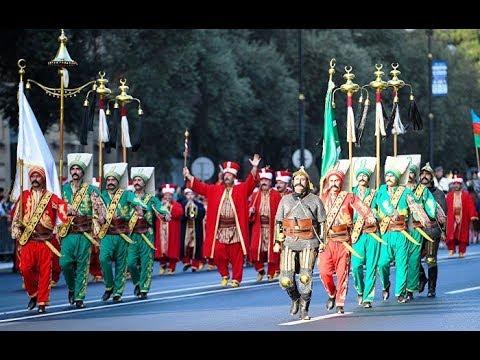 Bakı-nin qurtuluşunun 100-illiyi - Hərbi Parad - Ilham Eliyev / Recep Tayyip Erdogan - Azerbaycan