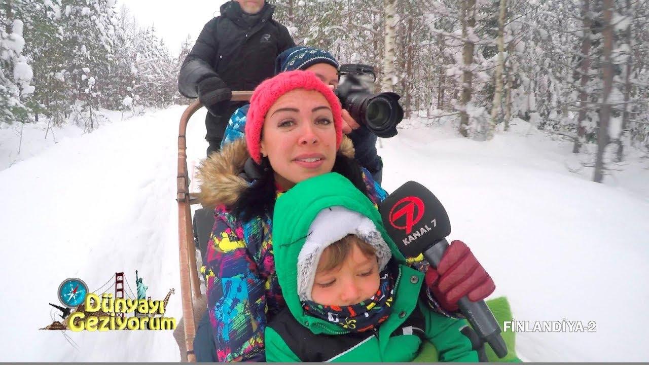 Dünyayı Geziyorum - Finlandiya 2 | 25 Mart 2018