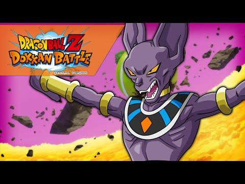 FIGHTING BEERUS!!   Dragon Ball Z Dokkan Battle (Battle of Gods Event)