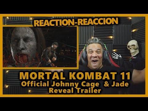 Mortal Kombat 11 - Johnny Cage & Jade Reveal Trailer REACTION thumbnail