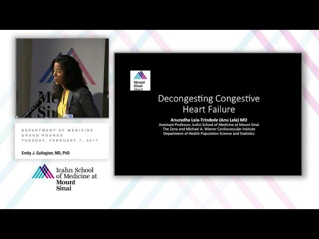 Decongesting Congestive Heart Failure