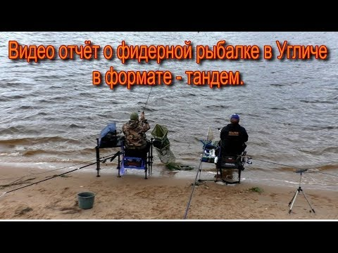Отчёт о рыбалке в г. Углич. Фидер. Формат- тандем.