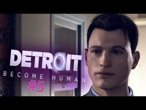 Detroit: Become Human - When Connor Looks at You #5 (Let's Play)