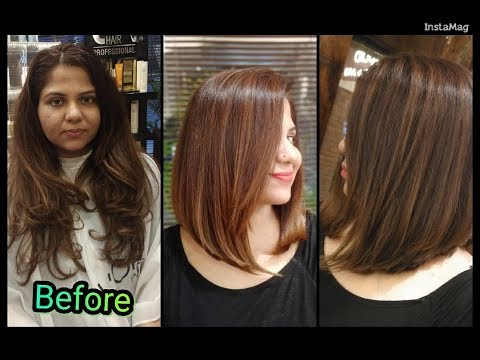 trendy-bob-haircut-tutorial-|-long-to-short-hair-|-easy-haircut-tutorial-|-haircut-expert-shyama's