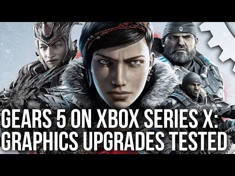 Gears 5 Upgrades For Xbox Series X Tested - Enhanced Graphics, 120Hz, Lower Latency + More!