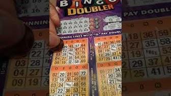 Illinois lottery Bingo Doubler