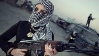 KURDISH GIRLS HELPING TRAPPED AMERICANS AGAINST ISIS IN SYRIA IRAQ WAR