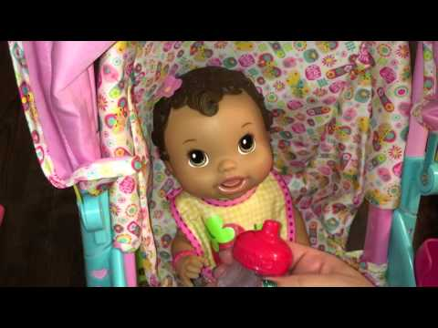 how do you make your baby alive doll 39 s bed video tag. Black Bedroom Furniture Sets. Home Design Ideas