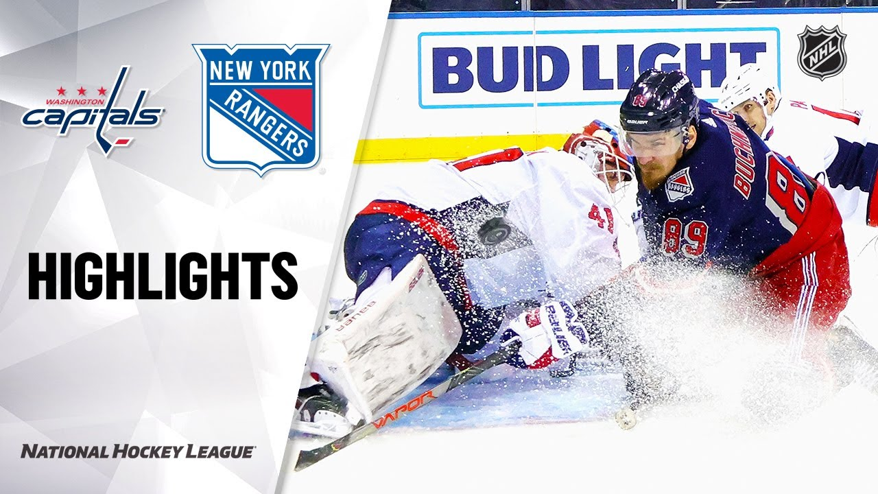 Capitals @ Rangers 2/4/21 | NHL Highlights - NHL