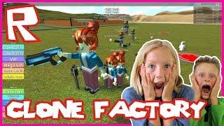 Clone Factory Tycoon - CLONNING MYSELF | Roblox