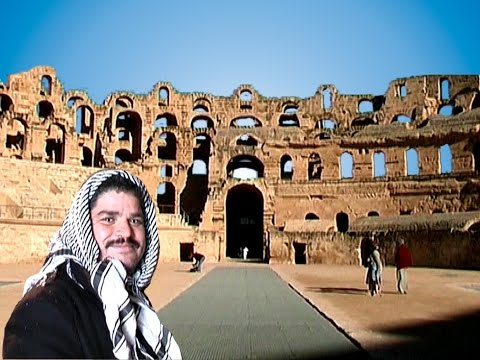 Tunesien - Mahdia - El Djem - Römisches Amphitheater