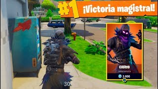 """EL CUERVO"" NUEVA Skin LEGENDARIA Fortnite: Battle Royale"