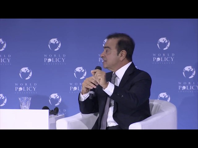 WPC 2018 - Plenary session 9: Conversation with Carlos Ghosn