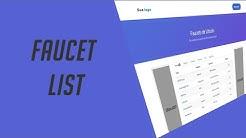 Script Lista de faucets Bitcoin Faucet List